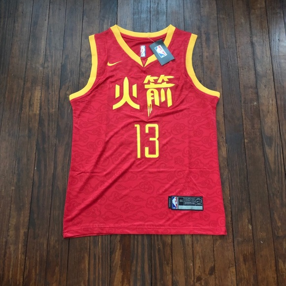 new product b9a0f 50347 2019 James Harden Rockets City Edition Jersey NWT